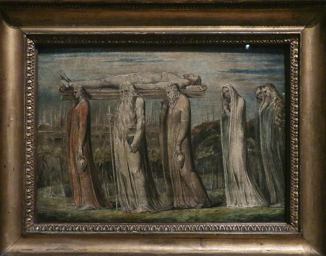 The Body of Christ Borne to the Tomb, c.1799-1800, William Blake