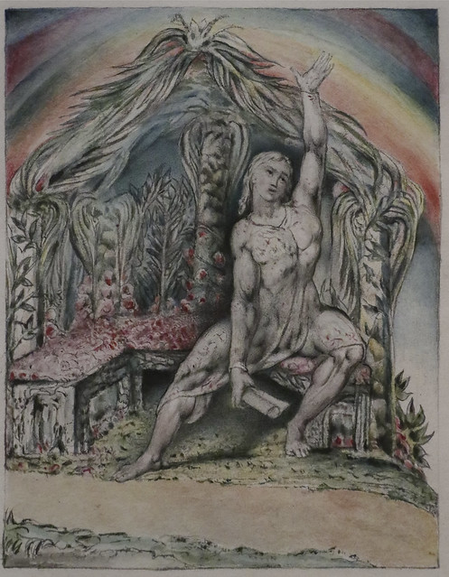 Christian in the Arbour, William Blake