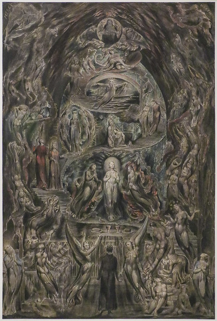 Epitome of James Hervey's 'Meditations among the Tombs', c.1820-5, William Blake