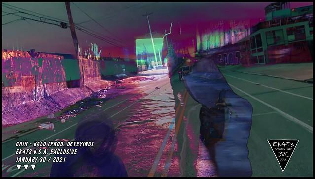 Grin - Halo (prod. Deyeying) [EK4T3 Collective]