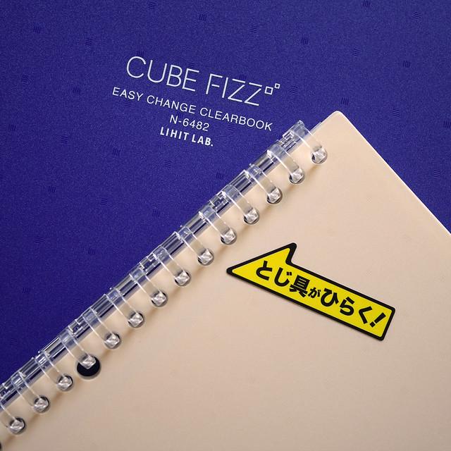 リヒトラブ イージーチェンジ・クリヤーブック CUBE FIZZ