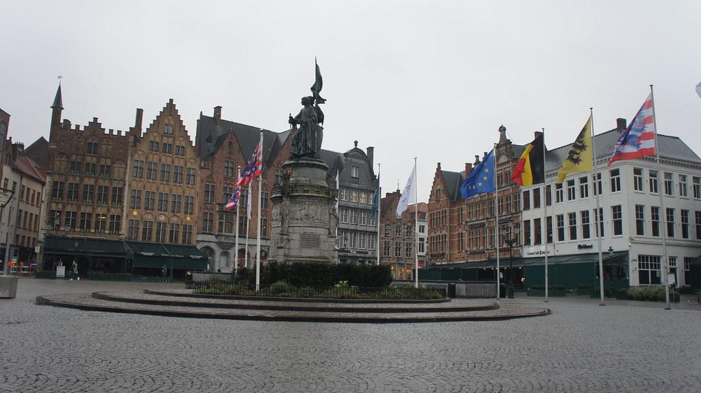El markt de Brujas