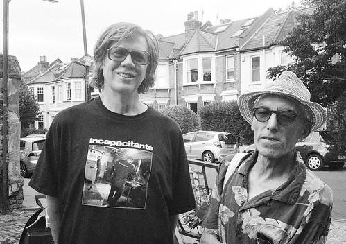 When Thurston Met Vic, Stoke Newington - Thurston Moore and Vic Godard