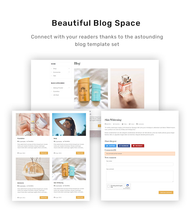 Beautiful Blog Space