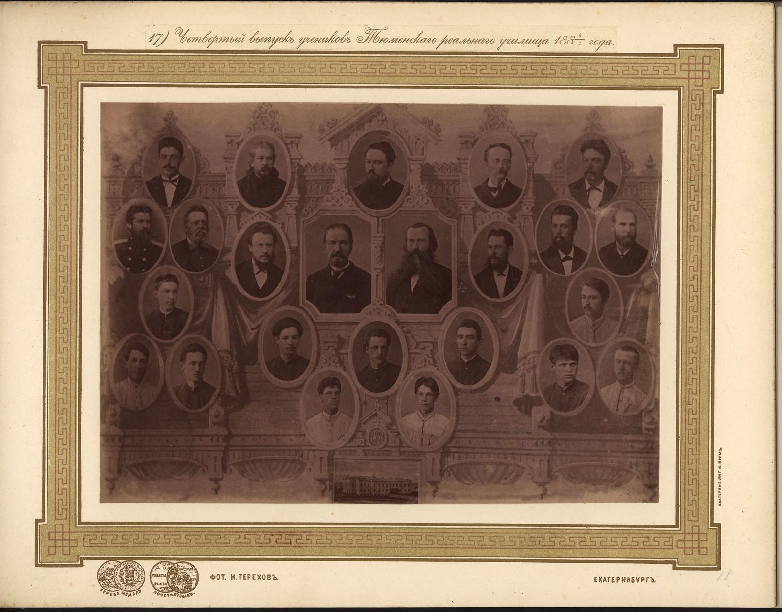 18. Четвёртый выпуск учеников 1886-1887