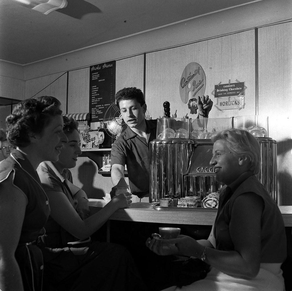 Một cuộc cách mạng cà phê espresso đã diễn ra ở Soho (London) vào những năm 1950