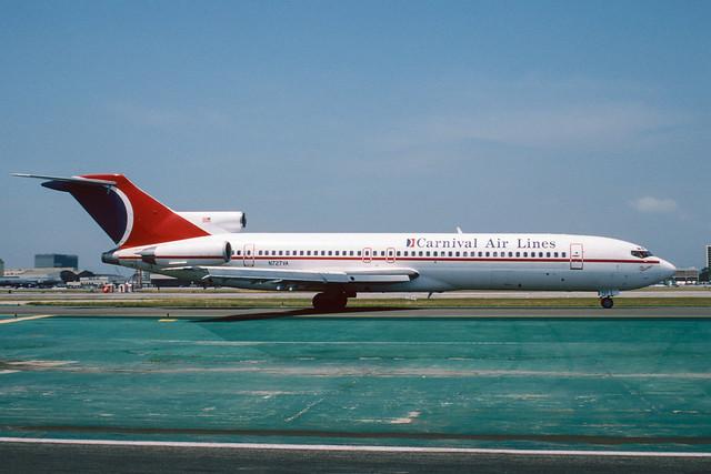 N727VA Boeing B727-221 KLAX 29-04-97