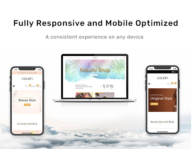 Fully Responsive and Mobile Optimized
