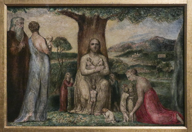 Christ Blessing the Little Children, 1799, William Blake