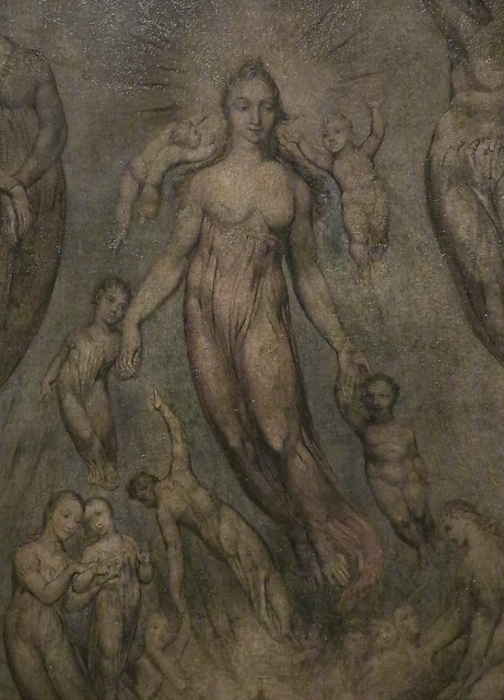 Detail - An Allegory of the Spiritual Condition of Man, c.1811, William Blake