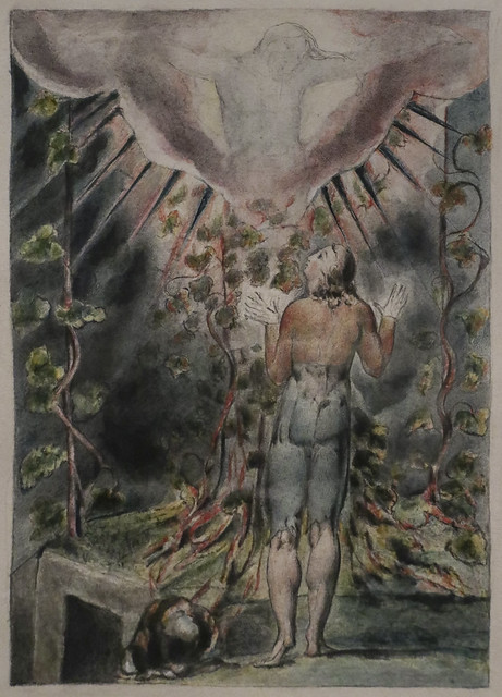 Christian before the Cross, William Blake