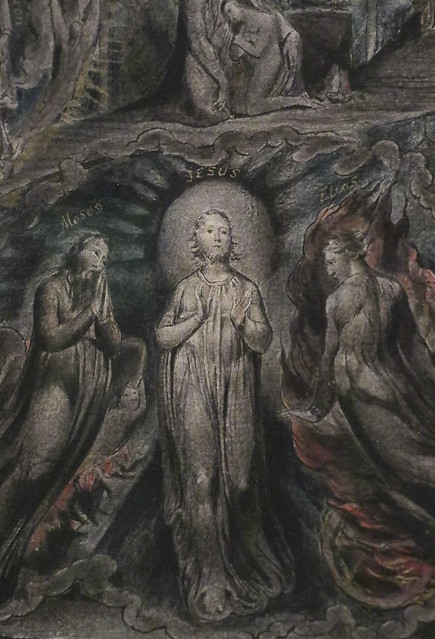 Detail - Epitome of James Hervey's 'Meditations among the Tombs', c.1820-5, William Blake