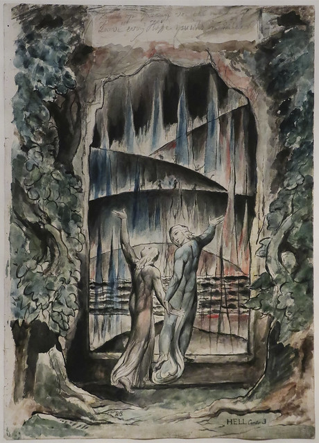 The Inscription over the Gate, 1824-7, William Blake