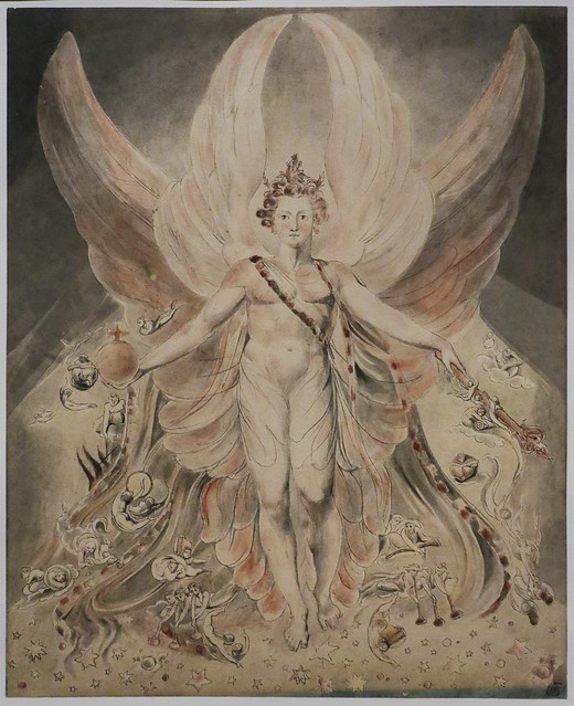 Satan in his Original Glory, 'Thou wast Perfect till Inquity was Found in Thee', c.1805, William Blake