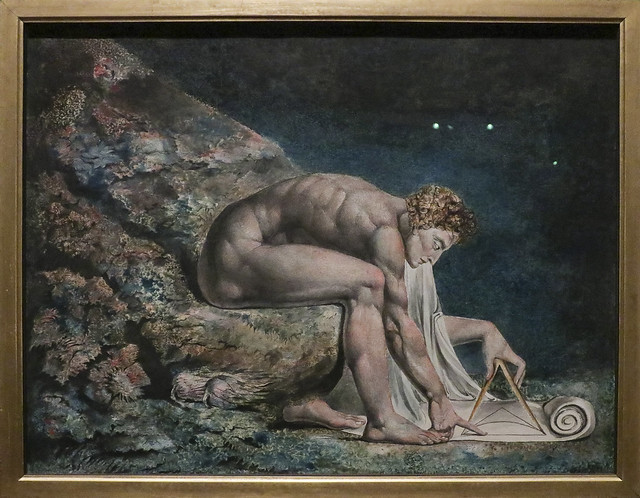Newton, 1795-c.1805, William Blake