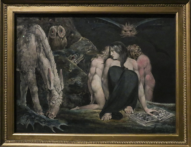 The Night of Enitharmon's Joy (formarly called 'Hecate'), c.1795, William Blake