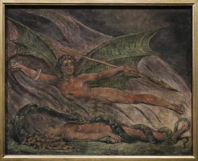 Satan Exulting over Eve, c.1795, William Blake