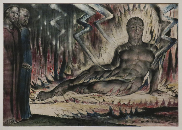William Blake Exhibition, 2019, Tate Britain, London