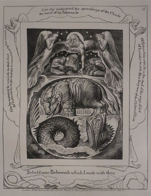 Ilustrations of the Book of Job, 1823-5, William Blake