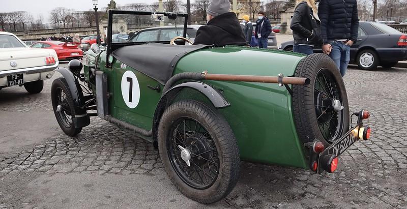 La Vraie Seven // Austin Seven 1933 50895376491_b9c240269b_c