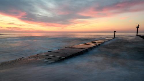 springlake newjersey jerseyshore longexposure beach sunrise