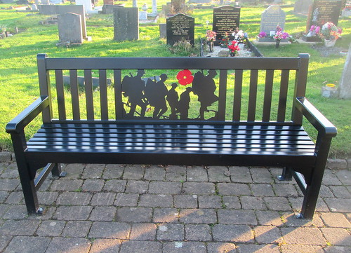 War Memorial Bench, Hebburn Cemetery
