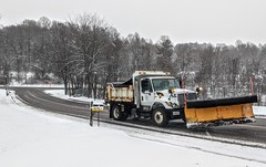 The Westminster Street Department snow plow
