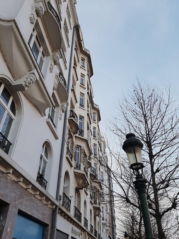 Edificios por Bruselas