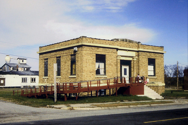 Wisconsin, Downing, (Former) Bank of Downing Building