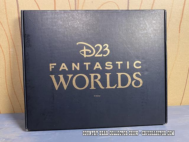2020 D23 Fantastic Worlds Map - CBCS #291
