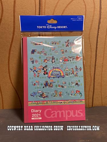 2021 Tokyo Disneyland Diary/Journal - CBCS #292