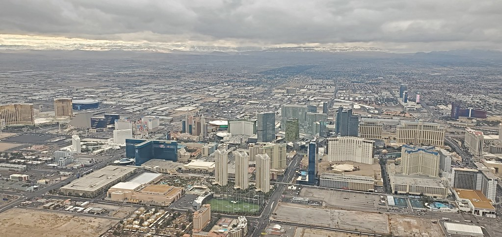 Flying out of Las Vegas