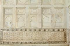 India, Uttar Pradesh, Agra, Taj Mahal, entrance decoration, 15 Jan 2015