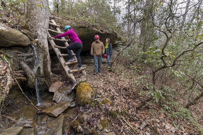 Trail, Meadow Creek Park, Putnam County, Tennessee