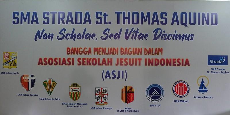 SMA STRADA ST. THOMAS AQUINO  MASUK DALAM ASJI (Asosiasi Sekolah Jesuit Indonesia)
