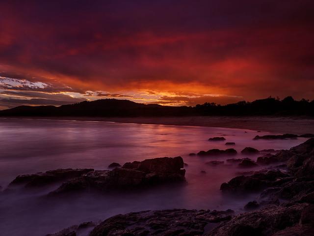 Sapphire Beach (NSW) sunset