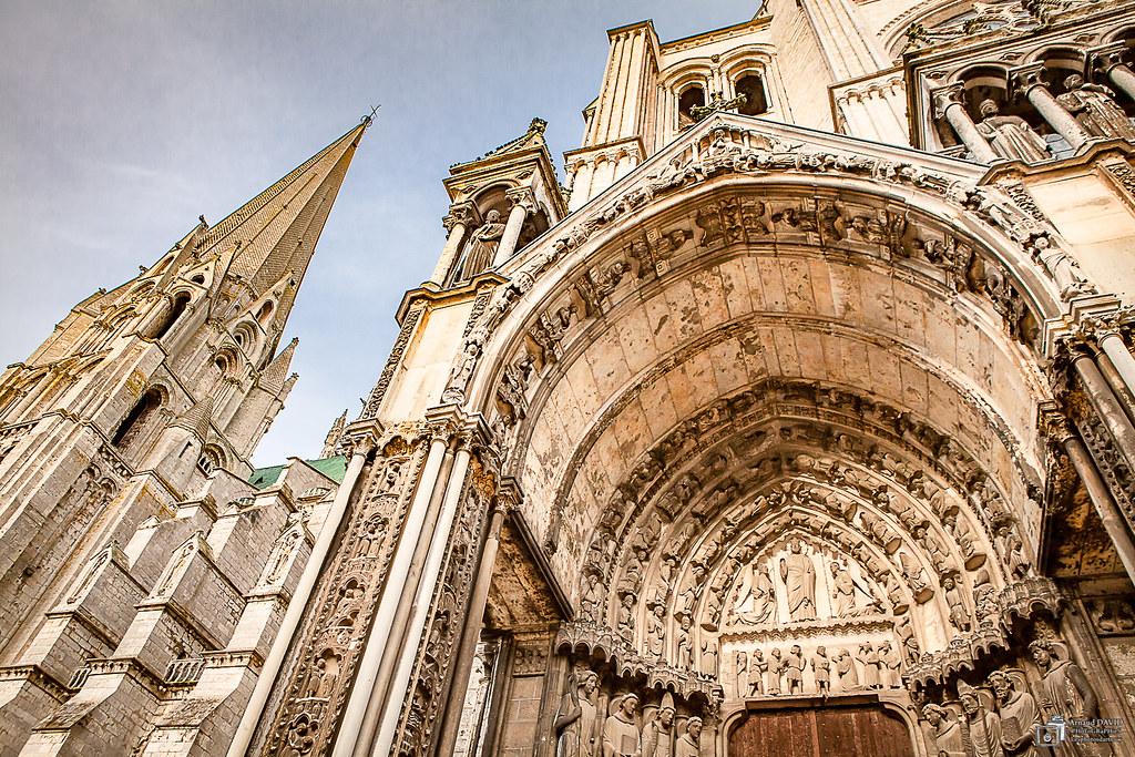 Cathédrale de Chartres, côté sud