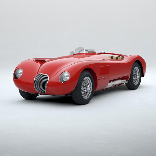 Jaguar-Classic-C-type_Carmen-Red