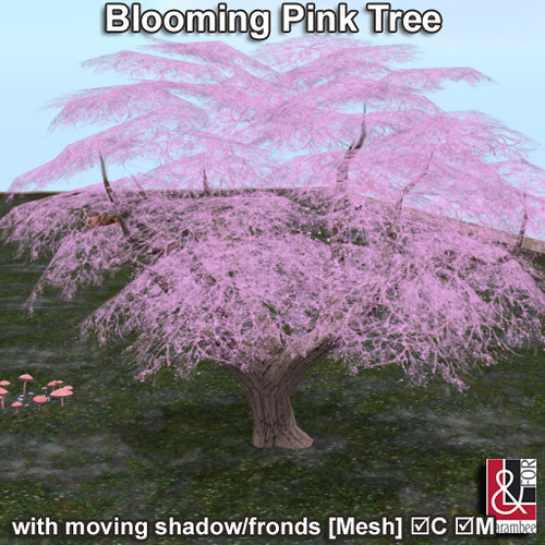 01 Blooming Pink Tree PIC