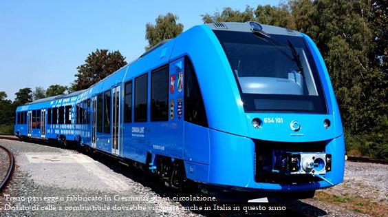 Treno tedesco ad H2