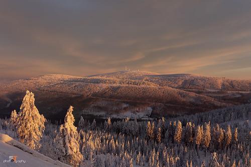 snow sventuchler winter landschaft landscape brocken harz cold morning natur nature naturelovers sunrise supershot