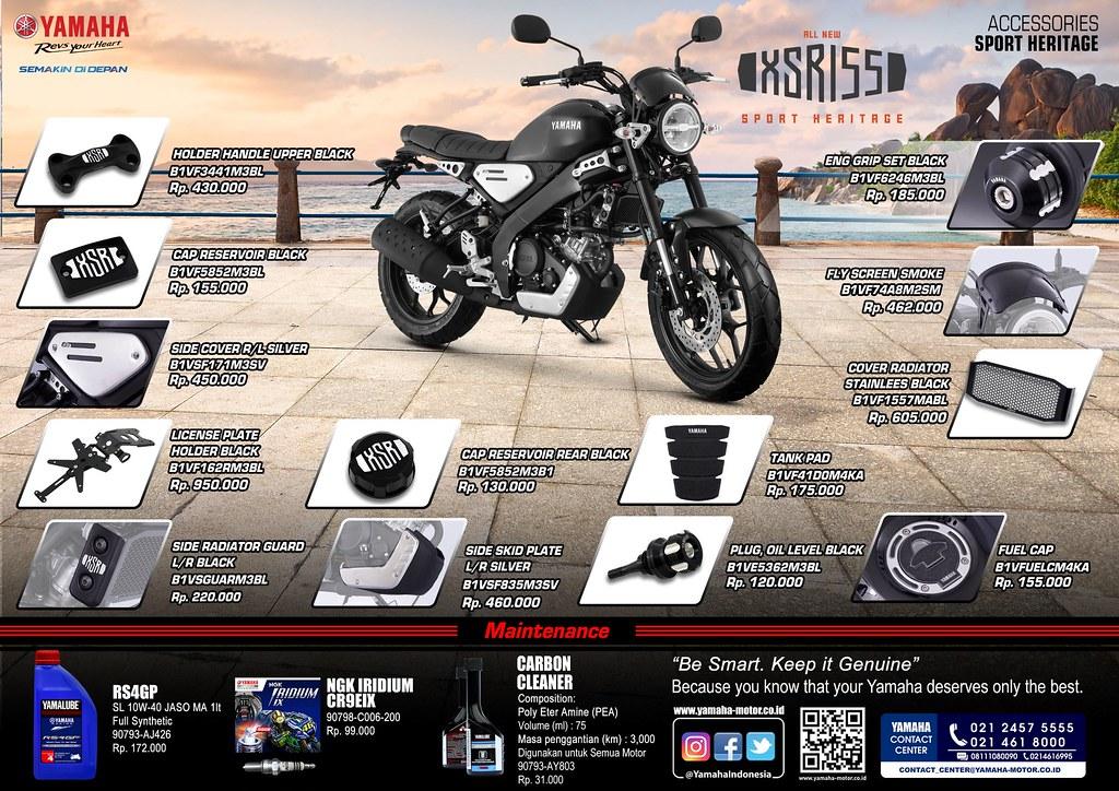 Aksesoris XSR 155 (Sport Heritage)