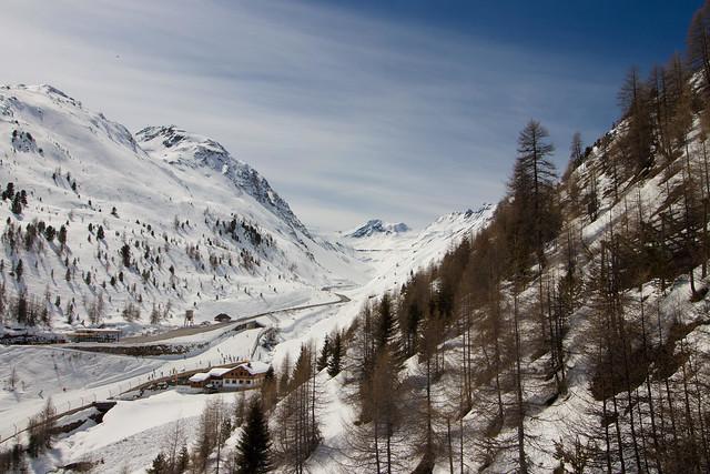 Gletscherstrasse