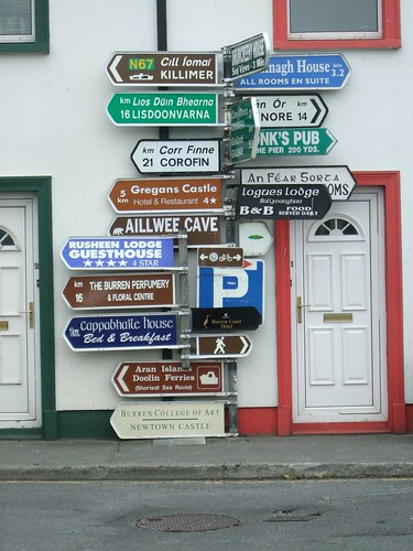 Signpost in Ireland with many different directions. From Through the Eyes of an Educator: Changing of the Guard