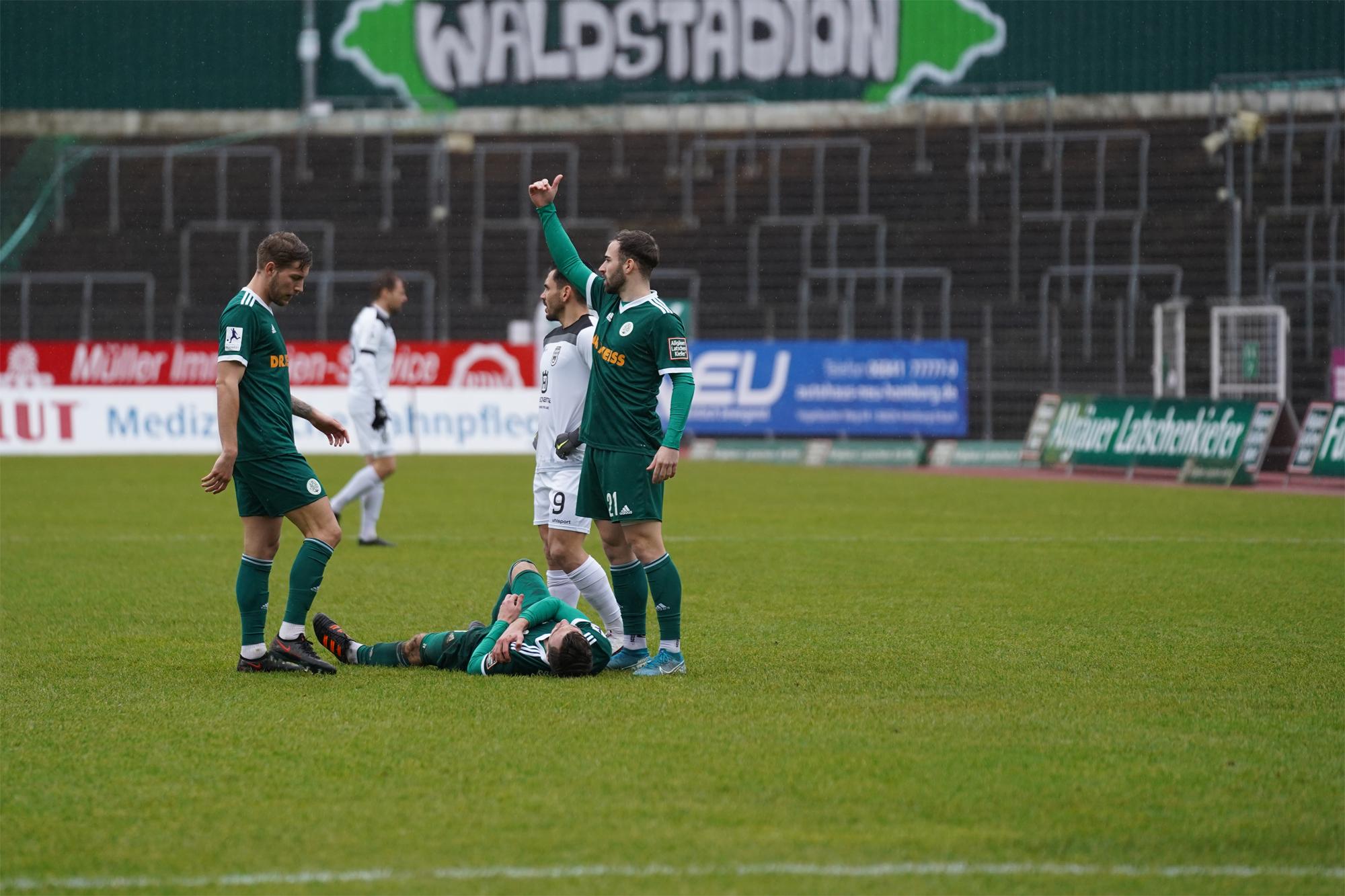 30.01.2021   Saison 2020/21   FC 08 Homburg   SSV Ulm 1846 Fußball