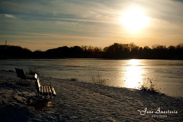 ....Sunset at the pond.......HBM!