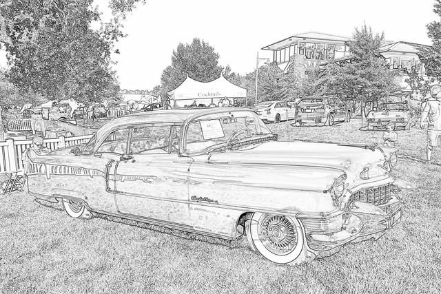 Cadillac Coupé de Ville 1955