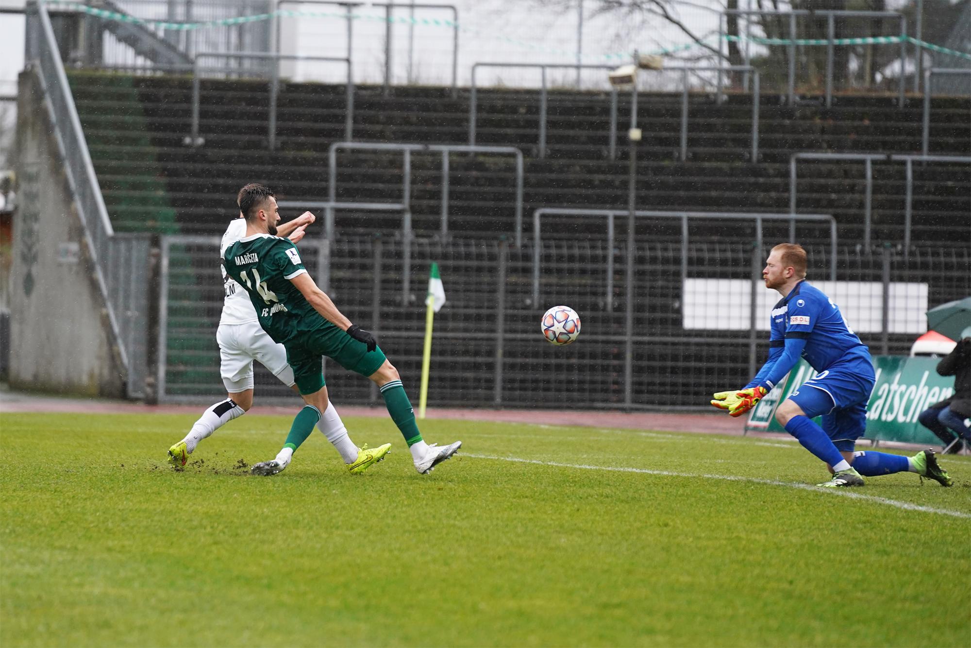 30.01.2021 | Saison 2020/21 | FC 08 Homburg | SSV Ulm 1846 Fußball