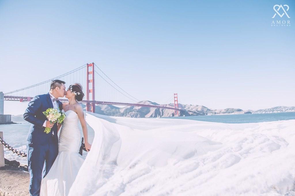 夢幻,婚紗之旅,舊金山,夢想婚紗,旅拍,旅遊,金門大橋,纜車,3號碼頭,舊金山市政廳,舊金山市區,優勝美地,AMOR,愛情來了,海外,婚紗,旅拍,台中婚紗