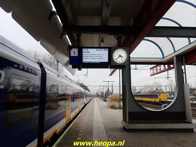 2021-01-30  Hollandsche Schouwburg via station Muiderpoort, Diemen, Station Weesp 84